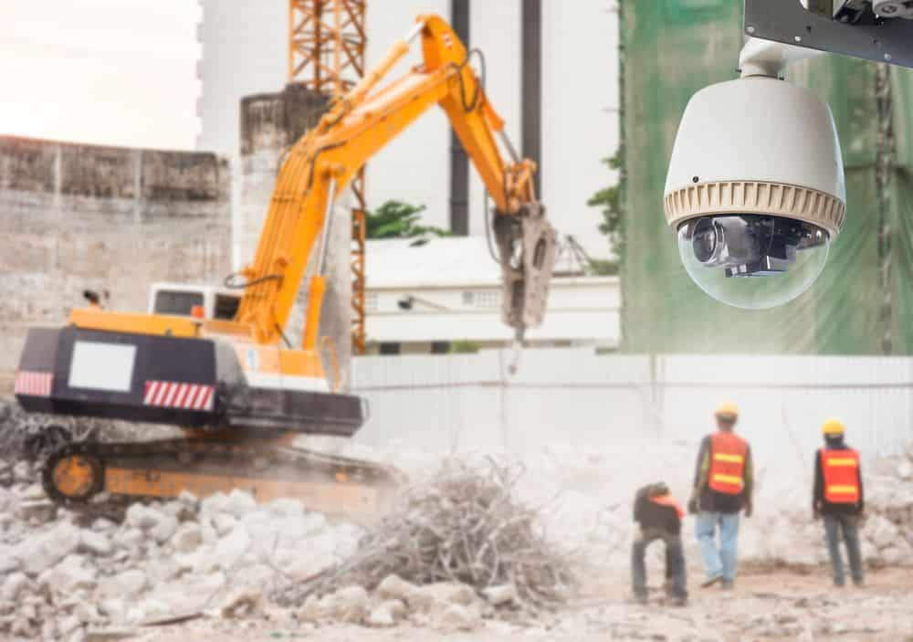 Construction Site CCTV Security Systems